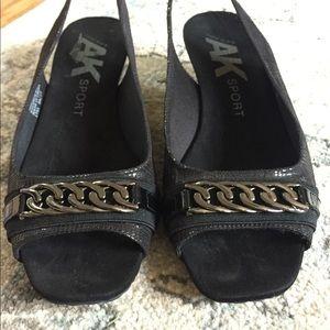 Anne Klein dress shoes. Wedges.
